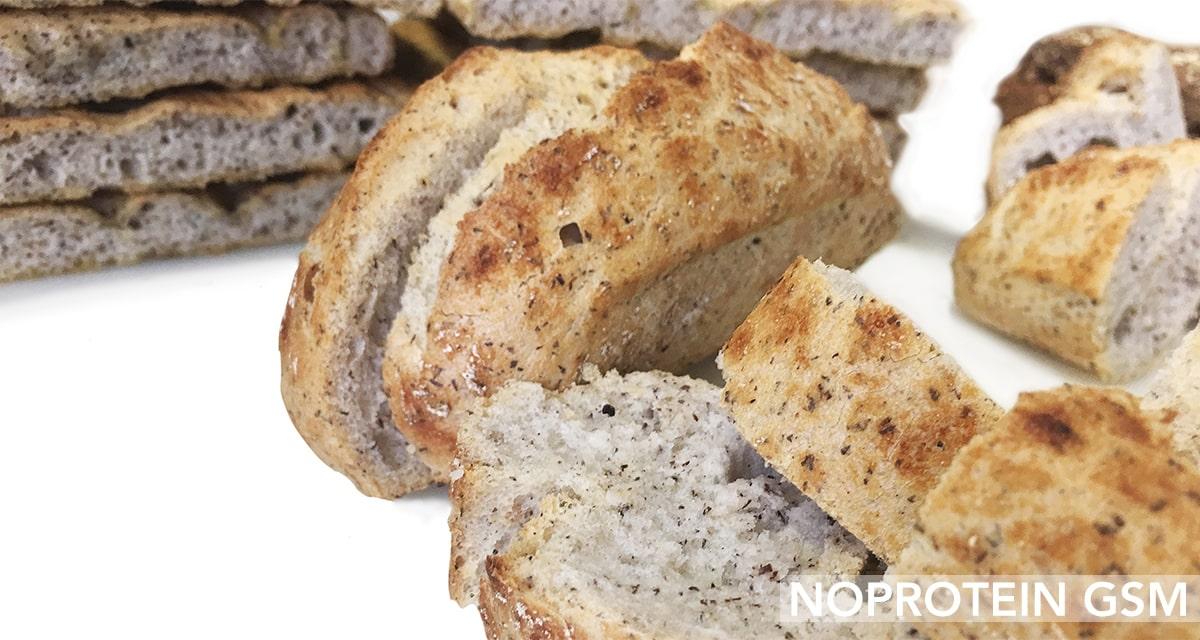 Pane senza proteine e GMS